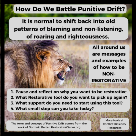 Battling Punitive Drift