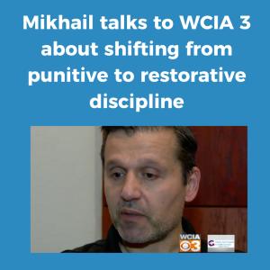 WCIA News video of Mikhail about discipline change