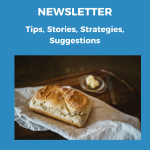 Newsletter header for front page