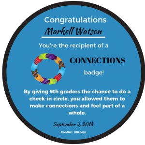 Markell Watson Connections badge round-2