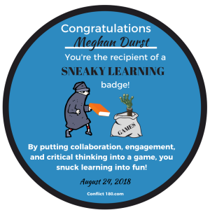 Sneaky Learning Badge