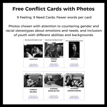 Conflict Cards Photos