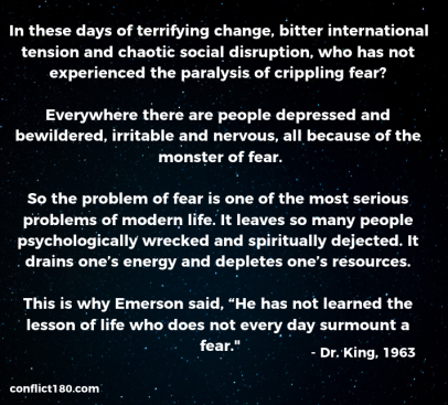 Fear Dr. King
